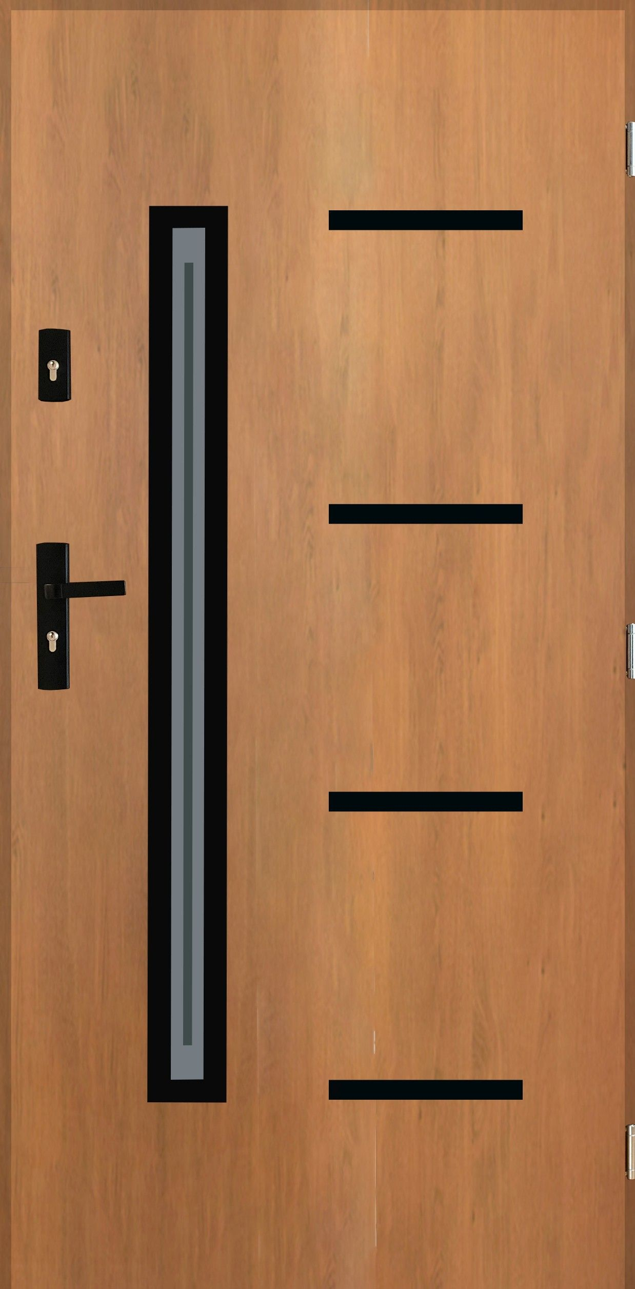 Drzwi AX 78 Black